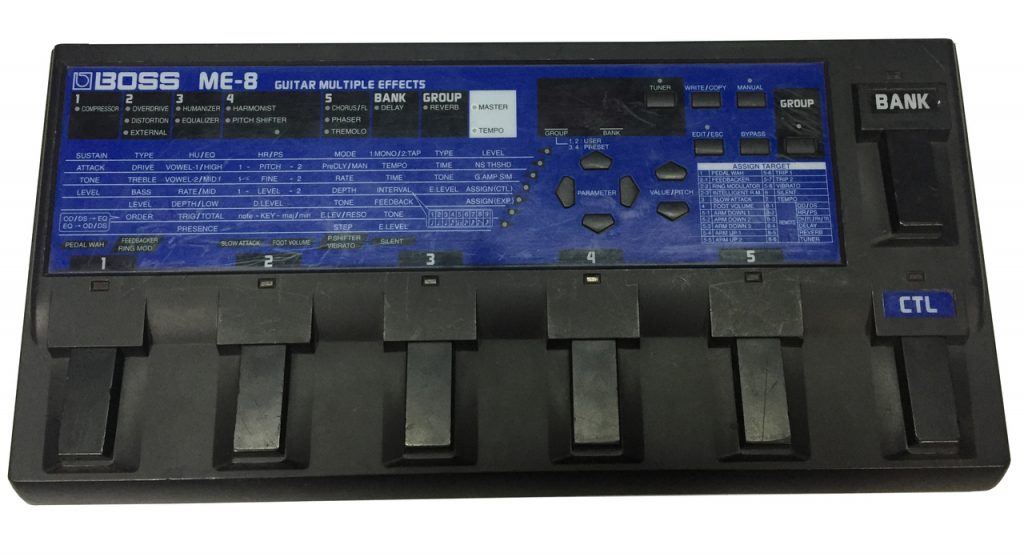ME-8 Guitar Multiple Effects