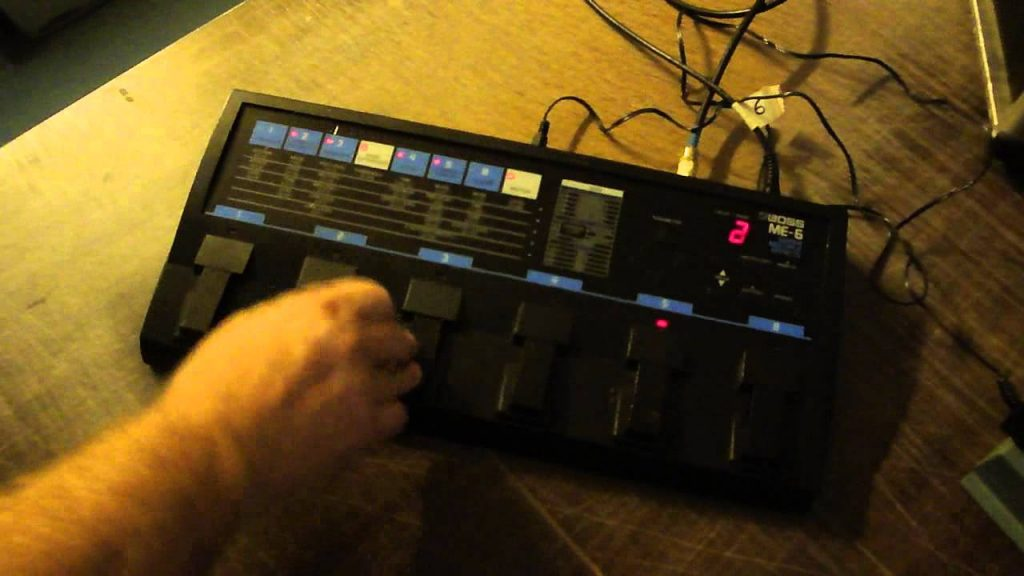 ME-6 Guitar Multiple Effects