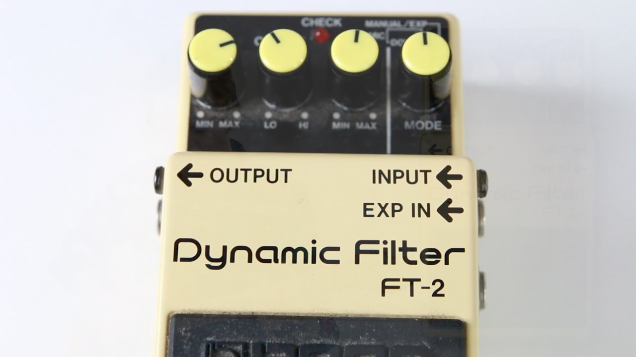 Boss FT-2 Dynamic Filter
