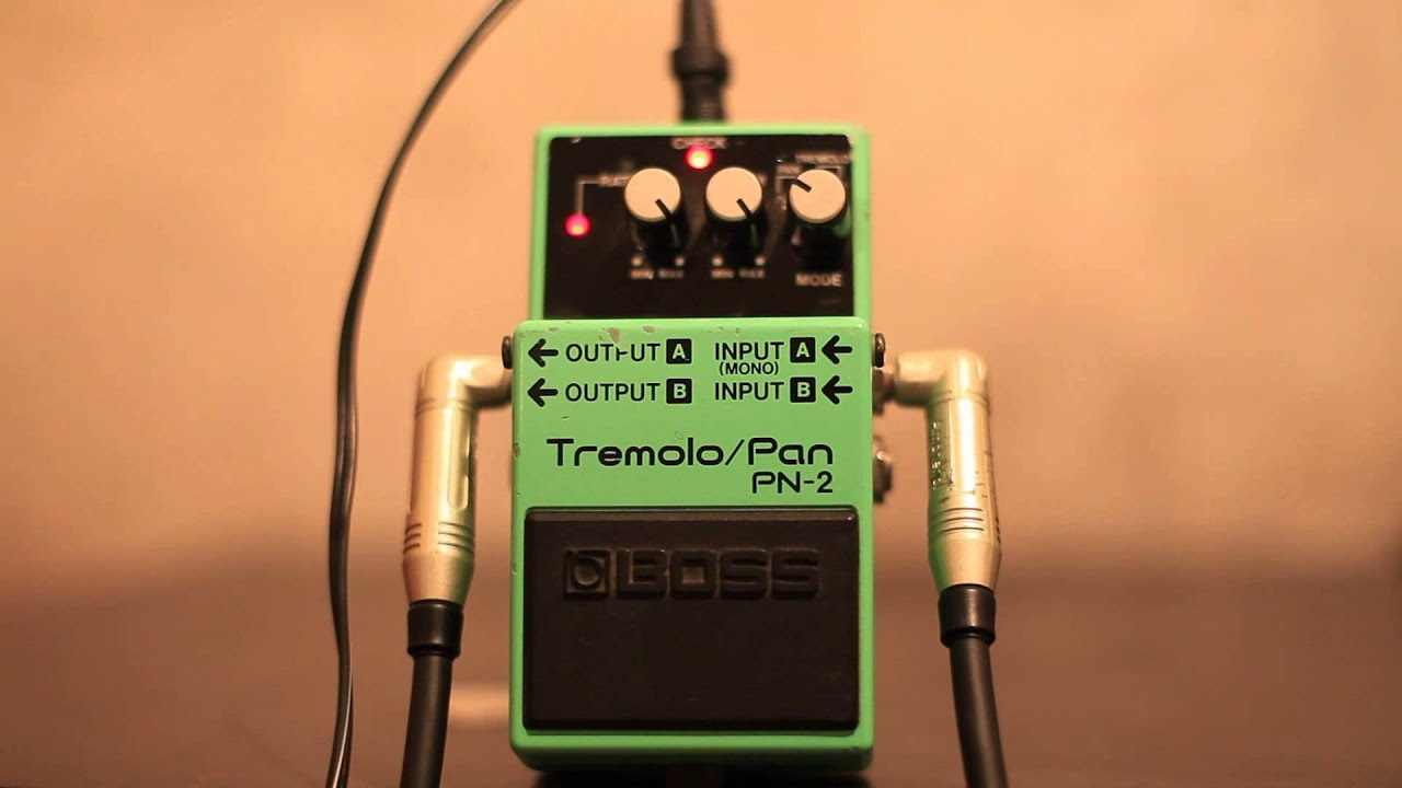BOSS PN-2 Tremolo/Pan