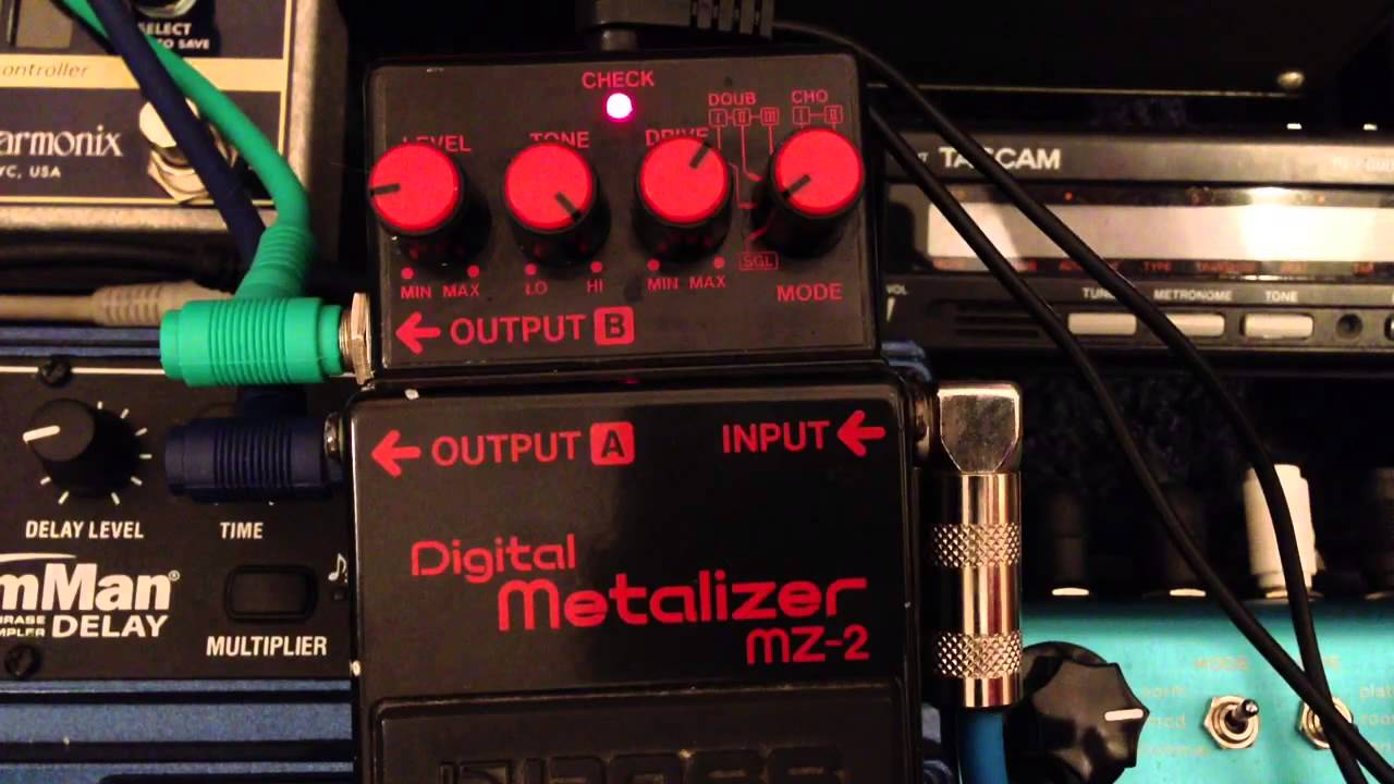 BOSS MZ-2 Metalizer
