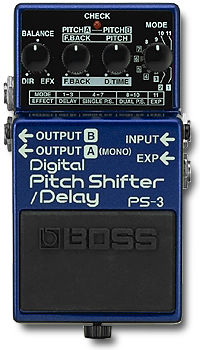 Boss PS-3 Digital Pitch Shifter/Delay