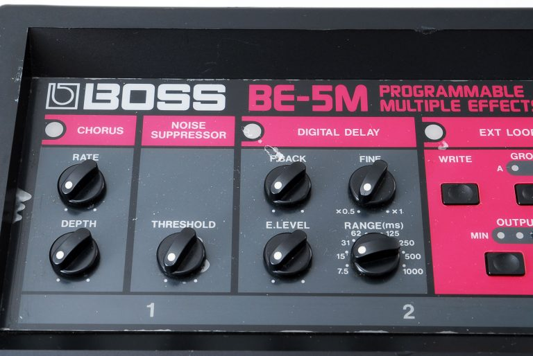 BE-5M Programmable Multiple Effects