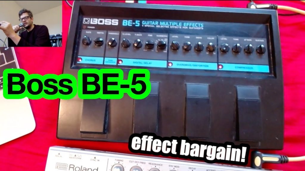 BE-5 Guitar Multiple Effects
