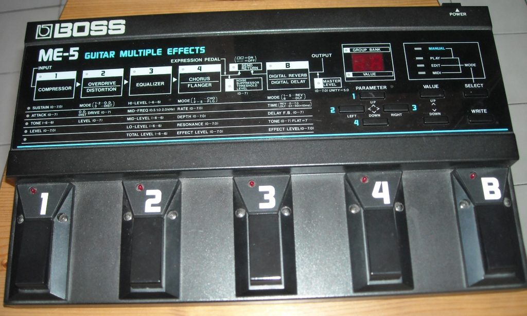 ME-5 Guitar Multiple Effects
