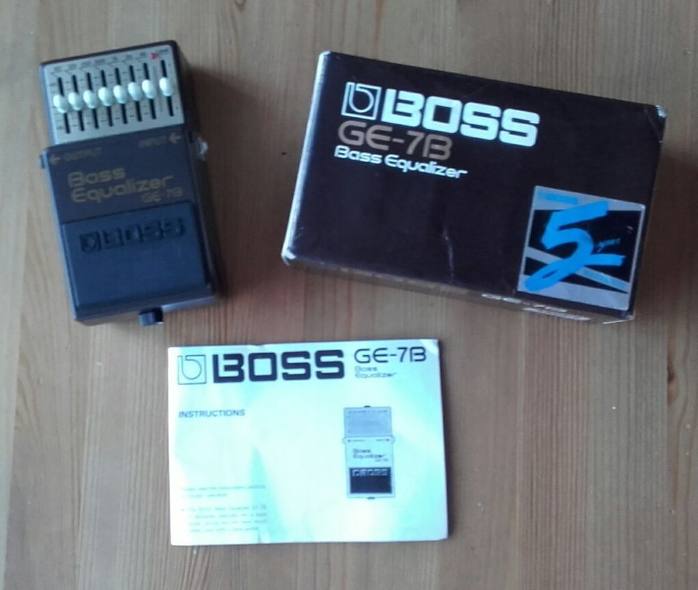 Boss GE-7B Bass Equalizer