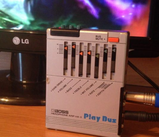 HA-5 Headphone Amp, Play Bus