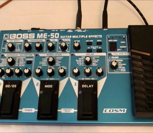ME-50 Guitar Multiple Effects