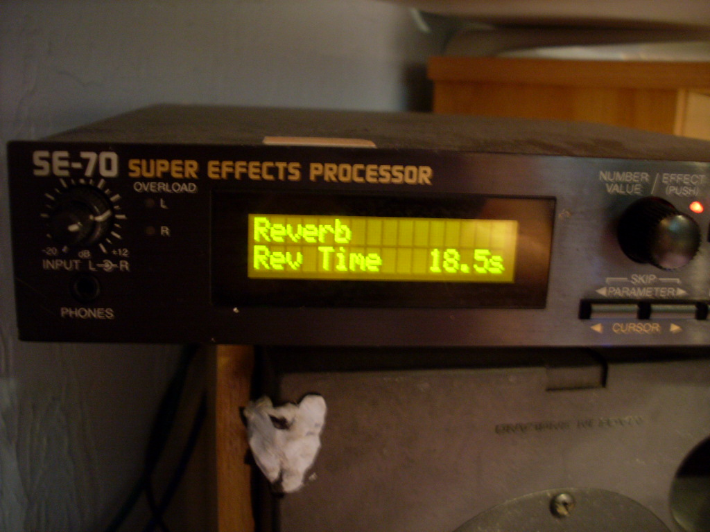 SE-70 Super Effects Processor