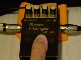 Boss BF-2B Bass Flanger