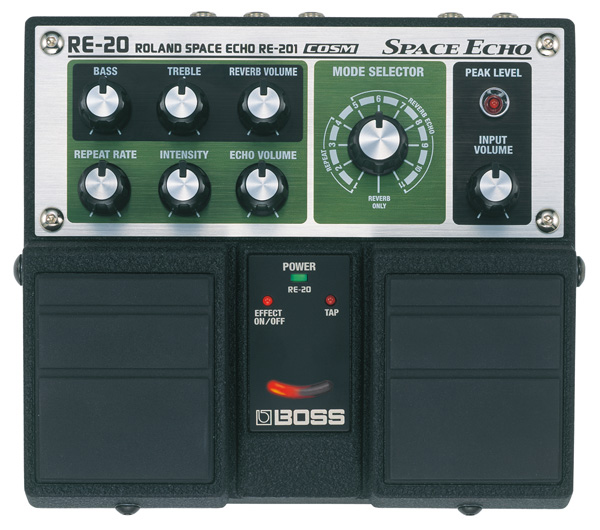 Boss RE-20 Roland Space Echo RE-201