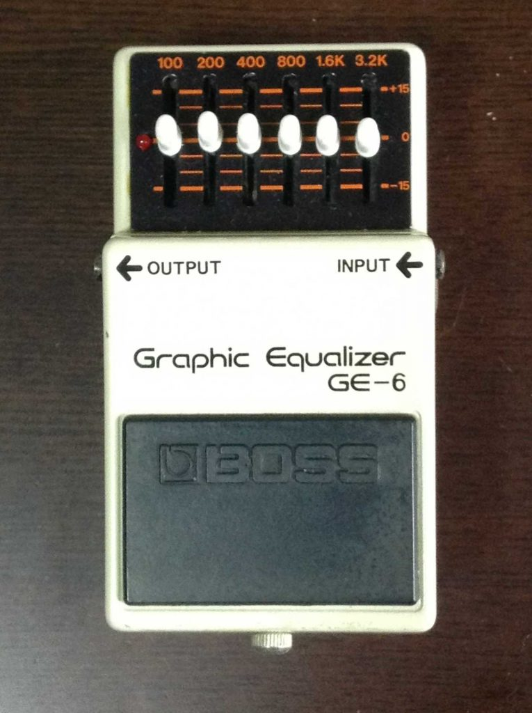 Boss GE-6 Graphic Equalizer