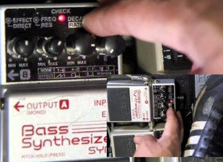 Boss SYB-5 Bass Synthesizer