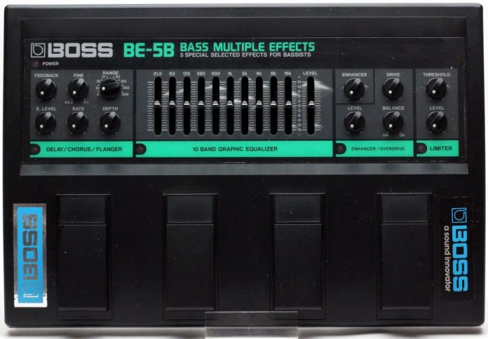 BE-5B Bass Multiple Effects