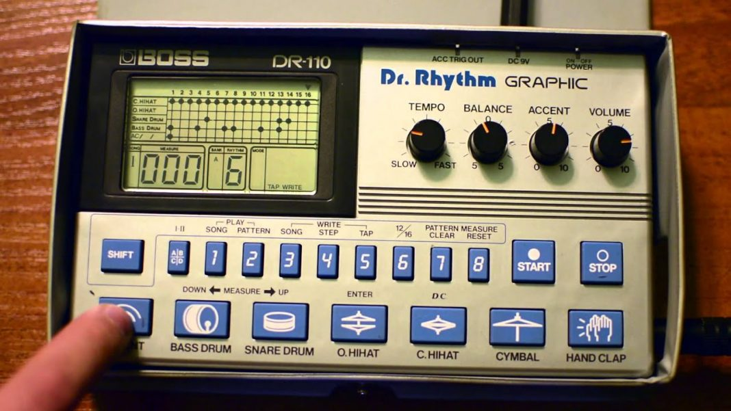 DR-110 Dr. Rhythm Graphic