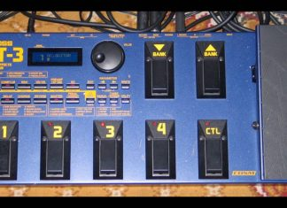GT-3 Guitar Effects Processor